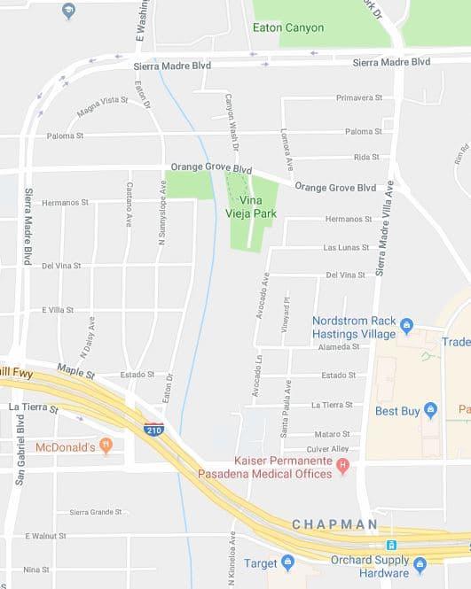 California Village Neighborhood, Near 91104